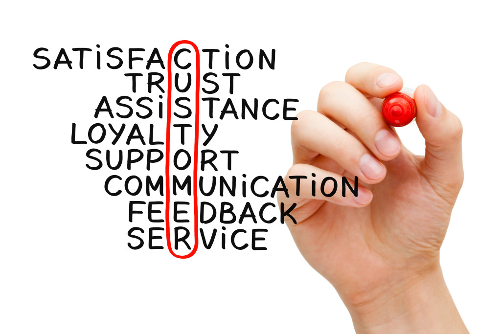 marketing strategies customer satisfaction Abstract: on a global scale a number of insurers are competing and offering the  customers a plethora of products the customers are demanding quick and.
