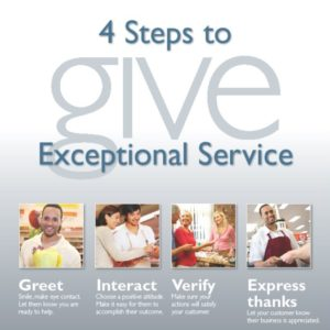 4 Steps to GIVE Exceptional Customer Service