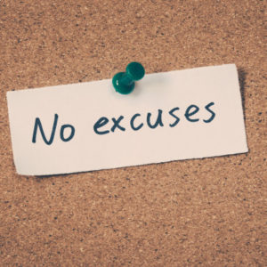 Having a Clear Change Process: The 3 Elements of a No Excuse Mindset