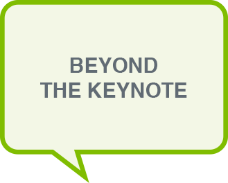 Beyond the Keynote